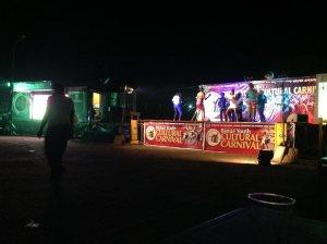 Carnival Village 2013 at night